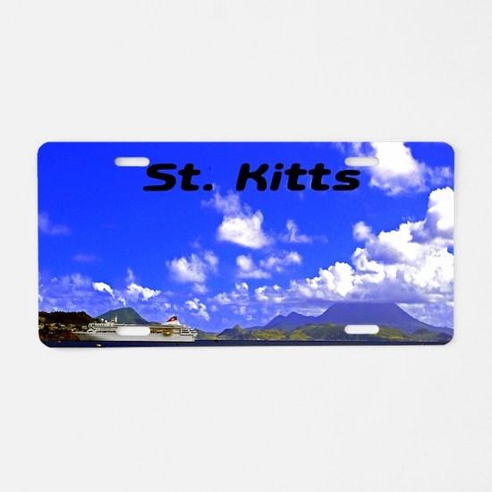 St. Kitts42x28 Aluminum License Plate