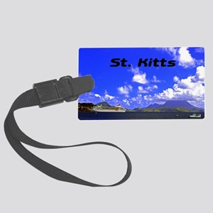 St. Kitts42x28 Large Luggage Tag