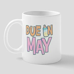 Due In May Girl  Mug