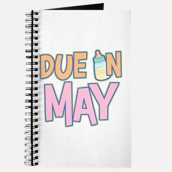 Due In May Girl Journal