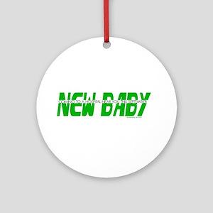 New Baby- September Ornament (Round)