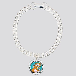 OCD-Cat Charm Bracelet, One Charm