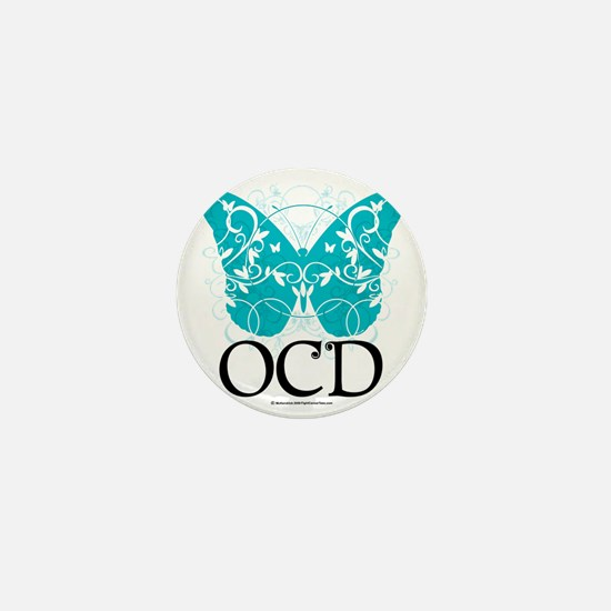 OCD-Butterfly Mini Button