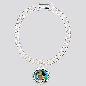 OCD-Dog Charm Bracelet, One Charm