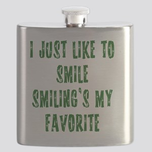 i love to smile Flask