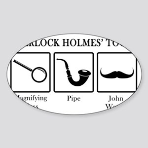 sherlockstools Sticker (Oval)