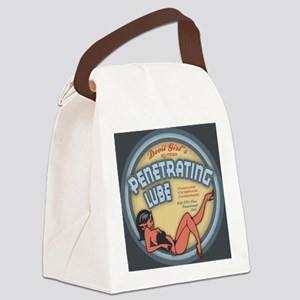 Penetrating-Lube-BUT-R Canvas Lunch Bag