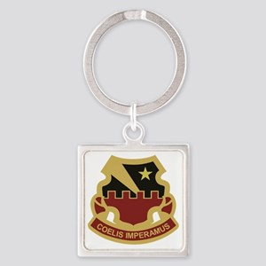 60th Air Defense Artillery Square Keychain