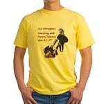 Natural Selection Yellow T-Shirt