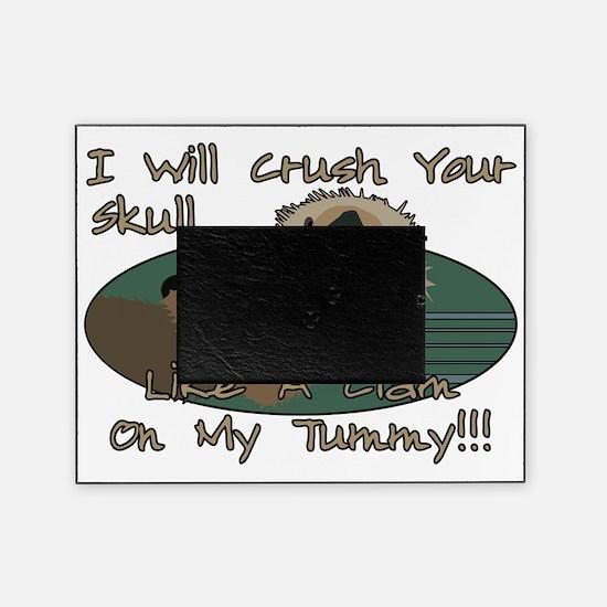 OtterSkullCrushDesign2 Picture Frame