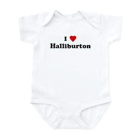I Love Halliburton Infant Bodysuit