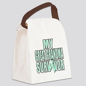 My Great Grandma is a Survivor (t Canvas Lunch Bag