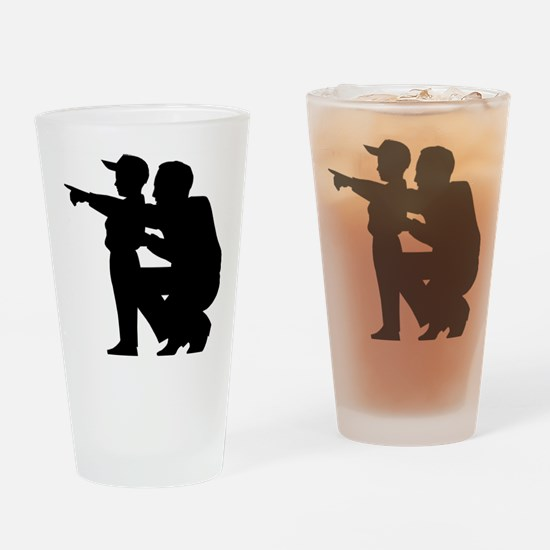 coaching.eps Drinking Glass