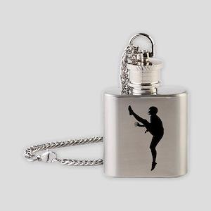 Football Kicker Flask Necklace