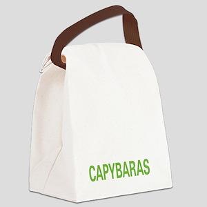 livecapybara2 Canvas Lunch Bag