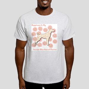 Pointer Happiness Ash Grey T-Shirt