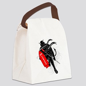 Logos Canvas Lunch Bag