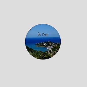 St Lucia 20x16 Mini Button