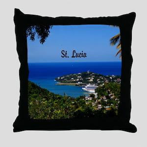 St Lucia 20x16 Throw Pillow