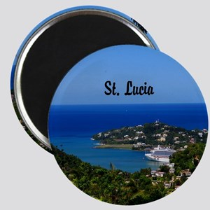 St Lucia 20x16 Magnet