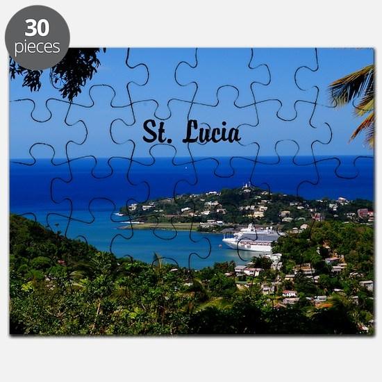 St Lucia 35x23 Puzzle
