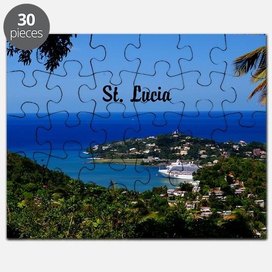 St Lucia 18x12 Puzzle