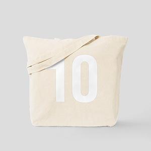 helvetica_10white Tote Bag