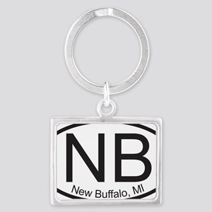 newbuffalo mi Landscape Keychain