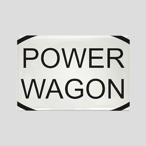 POWERWAGON Rectangle Magnet
