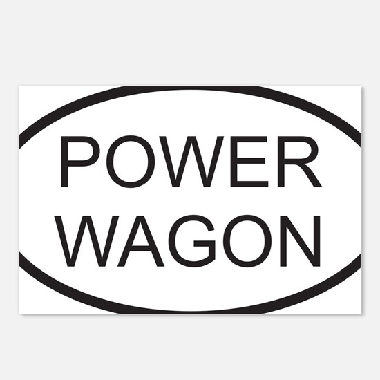 POWERWAGON Postcards (Package of 8)