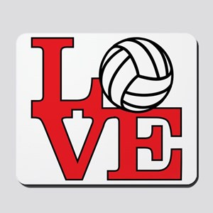 LoveVB-red Mousepad