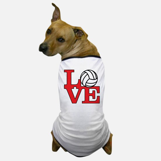 LoveVB-red Dog T-Shirt