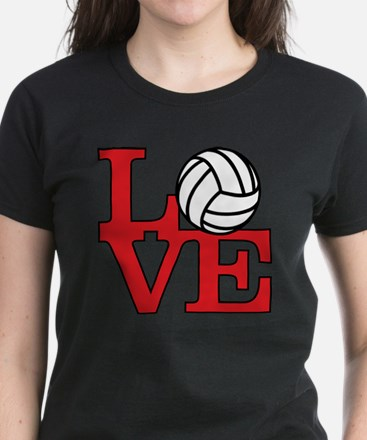 LoveVB-red Women's Dark T-Shirt