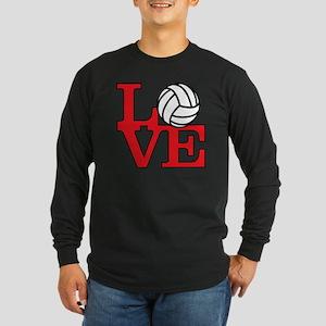 LoveVB-red Long Sleeve Dark T-Shirt