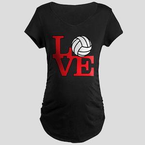 LoveVB-red Maternity Dark T-Shirt