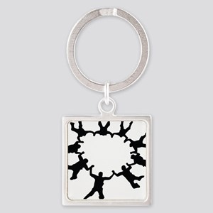 skydive1a Square Keychain