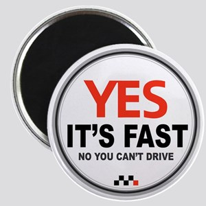 Copy of Yes Its Fast copy2 - Copy Magnet