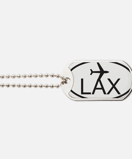 los angeles airport Dog Tags