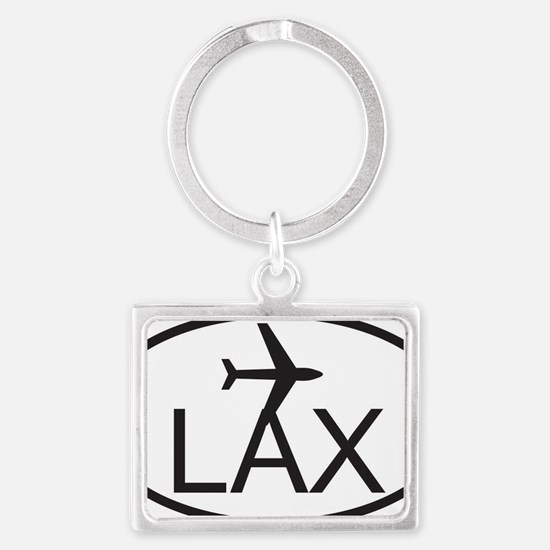 los angeles airport Landscape Keychain