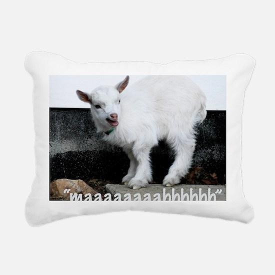 maaaaaaaahhhhhh Rectangular Canvas Pillow