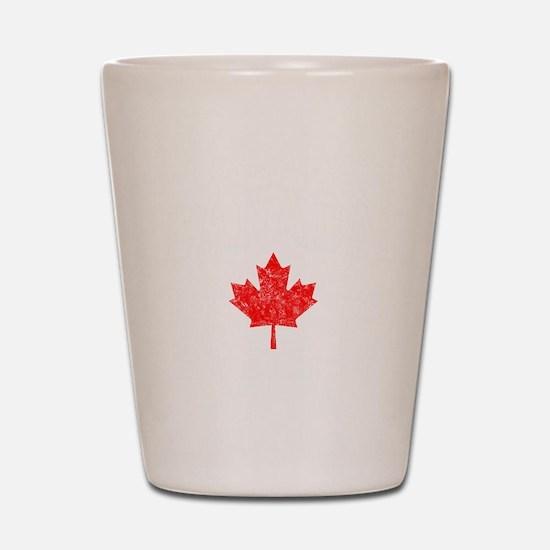 Canada Hockey -dk Shot Glass