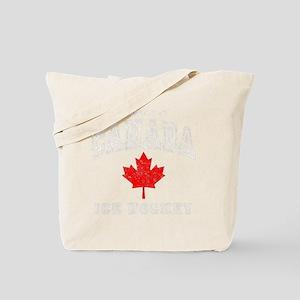 Canada Hockey -dk Tote Bag