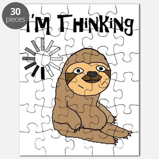 Unique Animals sloth Puzzle