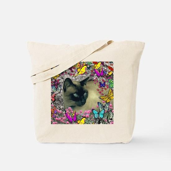 Stella Cat Butterflies Tote Bag