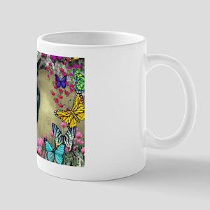 Stella Cat Butterflies Mug