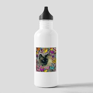 Stella Cat Butterflies Stainless Water Bottle 1.0L
