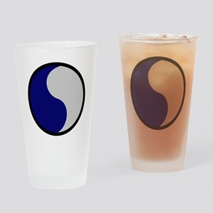 29th Infantry Division Drinking Glass