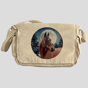 Winter B Shirt Messenger Bag