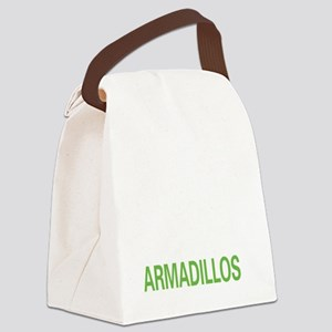 livearmadillo2 Canvas Lunch Bag
