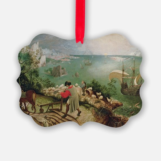 Landscape with the Fall of Icarus Ornament